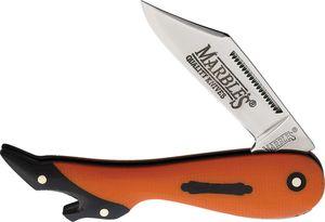 Folding Knife Marbles High Heel Lady Leg Orange G10 Mirror Stainless Steel Blade