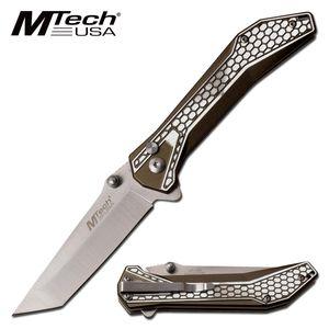 Folding Knife | Mtech Gray Tanto 3.25