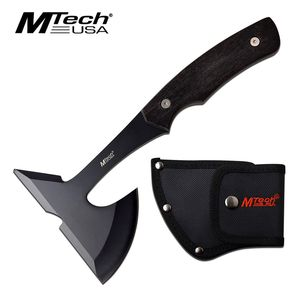 Throwing Tomahawk | Mtech Black Wood Full Tang Camping Tactical Hand Axe Hatchet