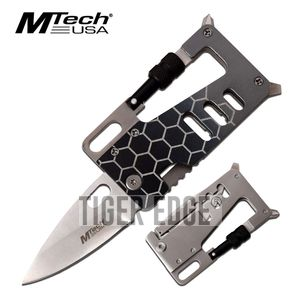Folding Wallet Knife Multi-Tool 3.25