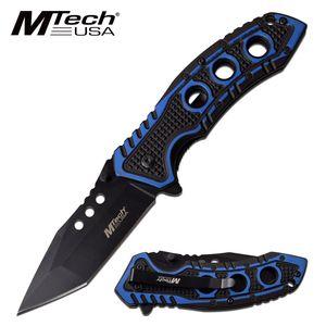 Spring-Assist Folding Pocket Knife Mtech 3.5