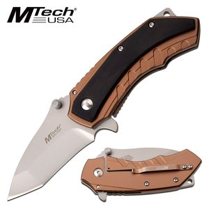 Spring-Assisted Folding Knife | Mtech Mini Tanto 2.5