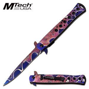 Spring-Assist Folding Knife | Mtech 4