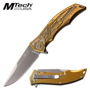 Spring-Assist Folding Knife | Mtech 3.75