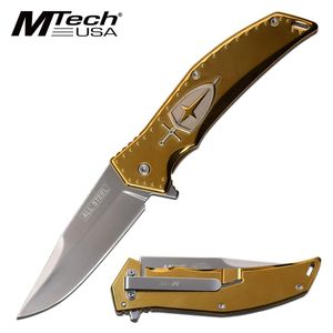 Spring-Assist Folding Knife Mtech 3.75