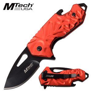 Spring-Assisted Folding Knife | Mtech Black 2
