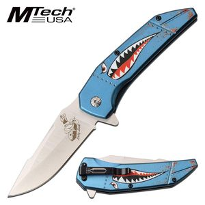 Spring-Assist Folding Knife EDC | Mtech 3.5