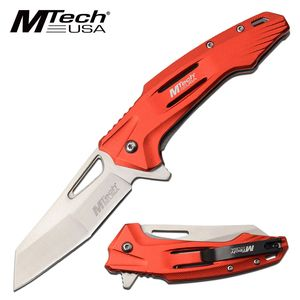 Spring-Assist Folding Knife | Mtech Tactical Wharncliffe 3.5