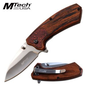 Spring-Assist Folding Knife | Mtech EDC 2.6
