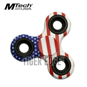 Fidget Spinner | Low-Cost American Flag Patriot Stainless Steel Bearing