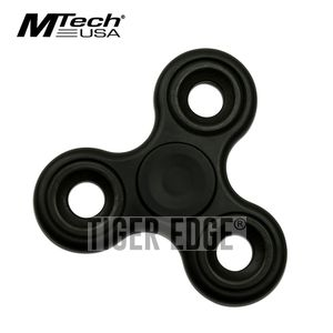 Fidget Spinner | Low-Cost Black Stainless Steel Bearing Mt-Fsp003Bk