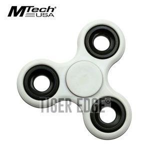 Fidget Spinner | Low-Cost White Stainless Steel Bearing MT-FSP003WH