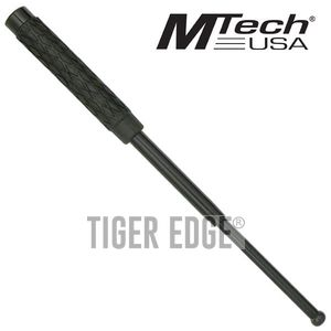 Mtech Black Rubber Handle 16