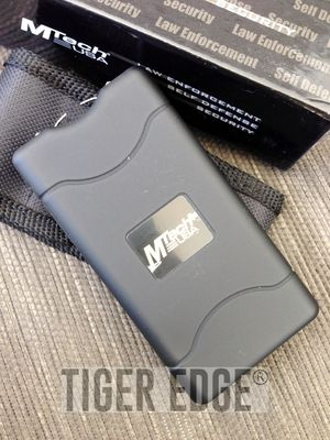 Mtech Black 800Type 3.5 Million Volt Self-Defense Stun Gun W/ Case