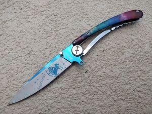 Folding Pocket Knife | Mtech Sagittarius Zodiac Astrology Stainless Steel Blade