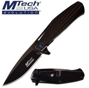 Manual Folding Knife   Mtech EVOLUTION Gray Ball Bearing Pivot Tactical EDC