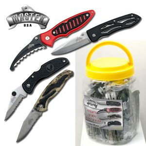 Folding Knife Set | 36 Piece Assorted Folding Blade Styles Mu-1115