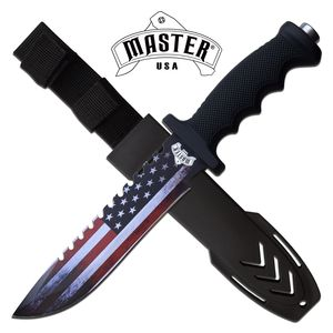 Tactical Knife | American Flag Stainless Steel Blade 12.5