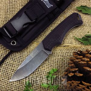 Mtech Xtreme Full Tang Stonewashed Tactical Military Combat Knife w/ Molle