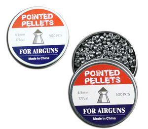 Airgun Pellets | 500 Count Pointed Tip Pellets .177 Cal 4.5Mm
