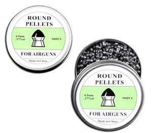 Airgun Pellets | 500 Count Round Tip Pellets .177 Cal 4.5mm