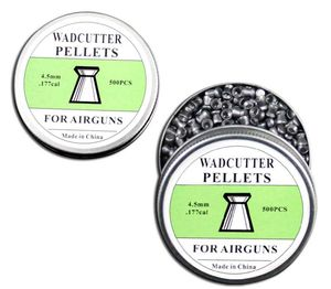 Airgun Pellets | 500 Count Wadcutter Tip Pellets .177 Cal 4.5mm