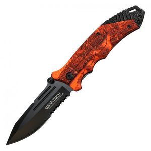 Spring-Assist Folding Knife | Wartech 3.5