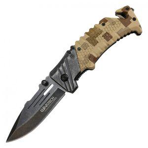 Spring-Assist Folding Knife | Wartech 3.38
