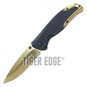 Spring-Assist Folding Pocket Knife | Wartech 3.5