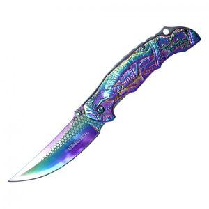 Spring-Assist Folding Knife | Wartech Samurai Bushido Warror 3.5