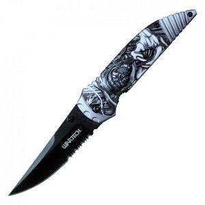 Spring-Assist Folding Knife Wartech 3.25