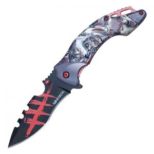 Spring-Assist Folding Knife | Wartech 3.5