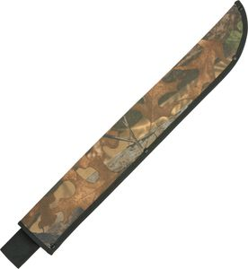 Fixed-Blade Knife Sheath | Camo Machete Belt Carry Case Pouch - Up To 22
