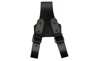 Sword Frog | Black Leather Sword/Dagger Belt Holster Costume Prop