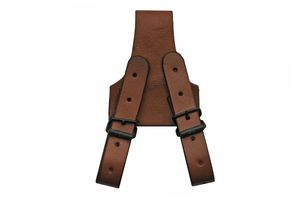 Sword Frog | Brown Leather Sword/Dagger Belt Holster Costume Prop