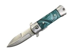 Mini Stiletto Spring-Assist Folding Pocket Knife | 1.75