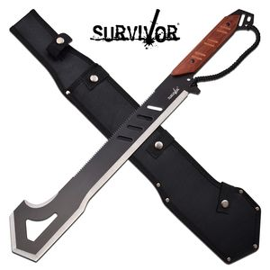 Machete | Survivor Black Cane Sawback 19