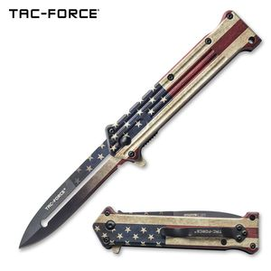 Spring-Assist Folding Knife Stiletto 3