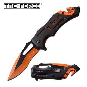 Spring-Assist Folding Knife   Tac-Force 3.5