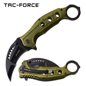 Spring-Assist Karambit Folding Knife | Tac-Force 3