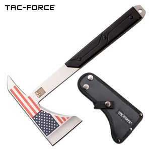 Tactical Ax | Tac-Force American Flag Military Combat Throwing Hatchet Tomahawk