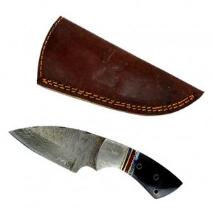 Damascus Steel Fixed Blade Knife | 6.5