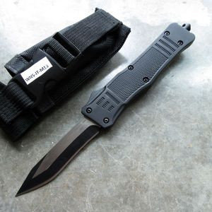 Out-the-Front Automatic Knife | Black Atomic OTF 3.75