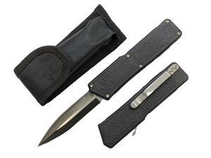 Out-the-Front Automatic Knife | Lightning OTF Black 3.25