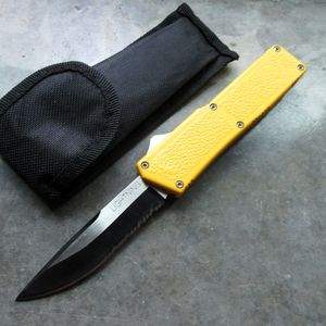 Out-the-Front Automatic Knife Lightning OTF Black 3.25