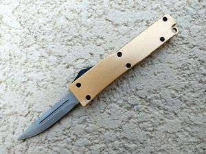 Mini OTF Automatic Knife Gold - WNS-PS5888GD