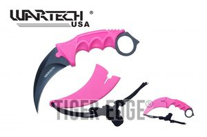 Fixed-Blade Karambit Neck Knife Wartech 2.5