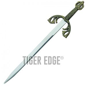 Letter Opener | Mini Sword Medieval Excalibur Gold 7.5