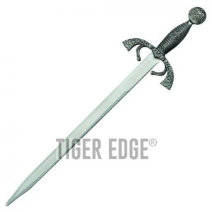 Letter Opener | Mini Sword Medieval Excalibur Silver 7.5
