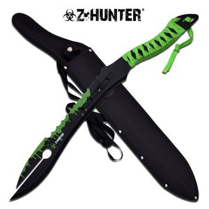 ZHunter Zombie Alien Style Fantasy Blade Machete Sword Sawback Dead Walking